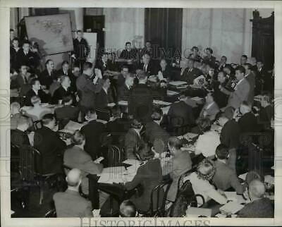 1945 Press Photo Pearl Harbor Investigating Committee in Washington D.C.