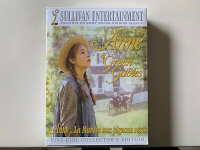 Anne of Green Gables: Five-Disc Collector's edition New/Sealed  - Free Shipping