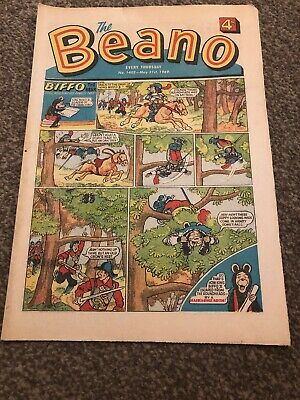 The Beano. No 1402. 31 May 1969