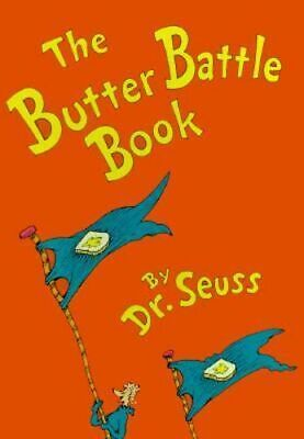 NEW The Butter Battle Book By Dr. Seuss Hardcover Free Shipping