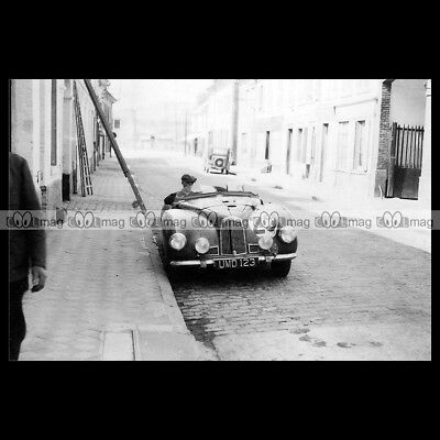 #pha.018312 Photo ASTON MARTIN 2-LITRE DB1 LE MANS 1949 Car Auto
