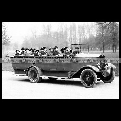 #pha.009566 Photo BERLIET AUTOCAR TORPEDO 1932 Car Auto