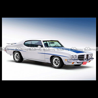 #pha.009641 Photo PONTIAC LEMANS GT HARDTOP COUPE 1972 Car Auto