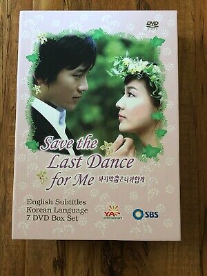 Save The Last Dance For Me DVD 7-Disk Korean Drama Region 1 English Subtitles