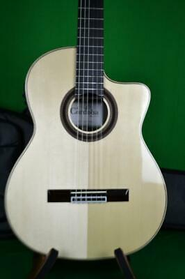 CORDOBA GK STUDIO NEGRA NYLON STRING A/E, GIG BAG INCLUDED, Int'l Buyers Welcome