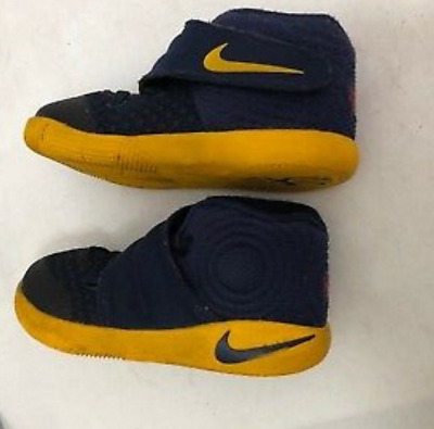 san francisco 43631 2cc50 827281 447 Nike Kyrie 2 Kyrie Irving Midnight Navy Gold Cavaliers 6C Td  Toddlers