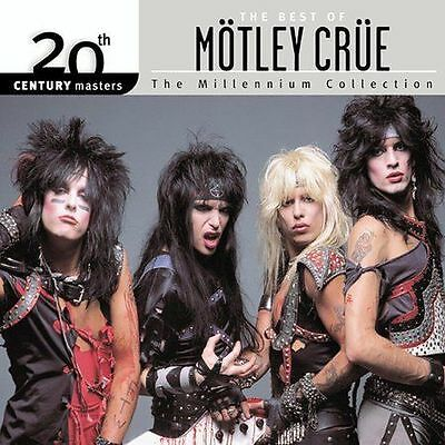 20th Century Masters Millennium Collection Best of Motley Crue CD GREATEST HITS