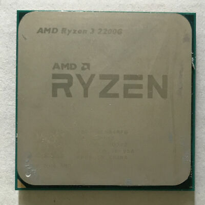 AMD Ryzen 3 2200G 3.5GHz 4-Core Processor Socket AM4 VEGA-8 CPU 65W A320 B350