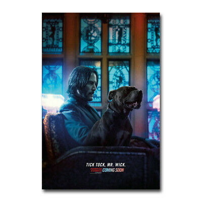 John Wick 3 Movie 5 Canvas Silk Poster New Art Print 13x20 24x36 inch Home Decor