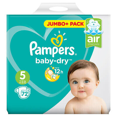 kg  Micro Pearls 76 Stück Pampers Baby Dry Gr 6   Extra Groß Windeln 15