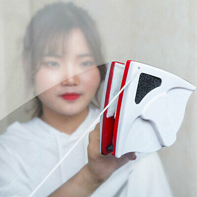 2 Colors Magnetic Window Cleaner Brush Double Side Glasses Surface Cleaning Tool