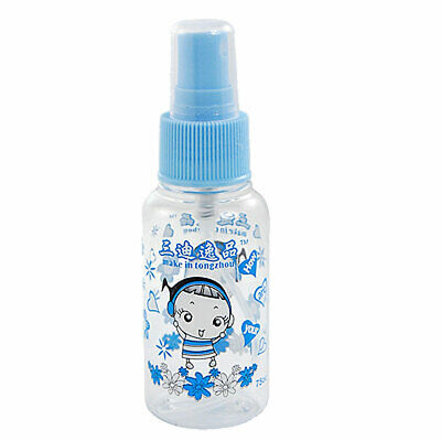 Pattern Makeup Perfume Spray Container Blue Clear