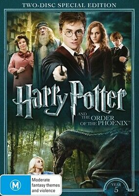 Harry Potter And The Order Of The Phoenix - Limited Edition | Year 5, DVD