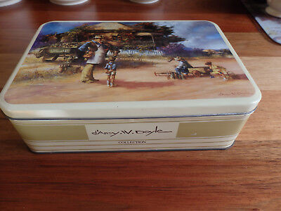 Collectable d'Arcy Doyle biscuit Tin. The Bottle Merchant