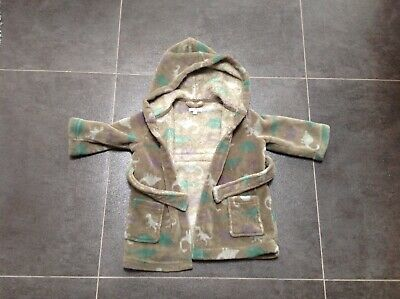 boys blue zoo dressing gown age 12/18 months