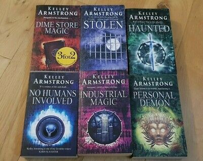 Lot of 6 Kelly Armstrong Paperback Books