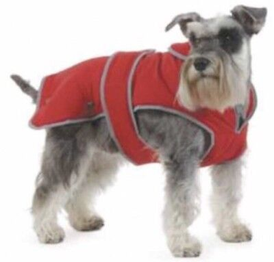 Ancol Stormguard All Weather Dog Coat Red Medium