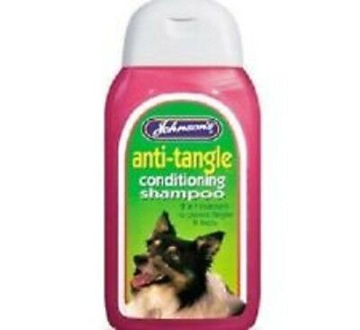 Johnson's Anti Tangle Shampoo and Conditioner for Dogs. 200ml