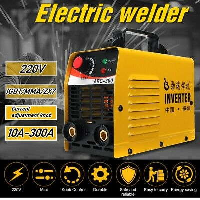 Portable 300Amp ARC MMA LCD Welder Inverter Welding Machine DC iGBT Stick