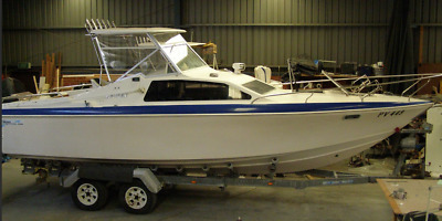 Haines Hunter 773SC KK MAY with Mercury Saltwater 250