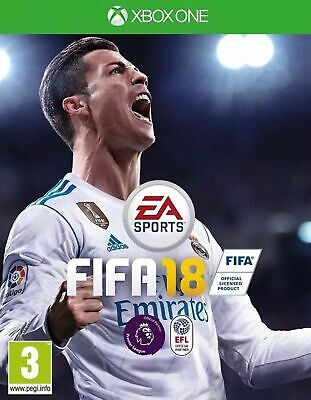 Fifa 18 (Xbox One) PRESTINE-1st Class Fast Delivery Absolutely Free