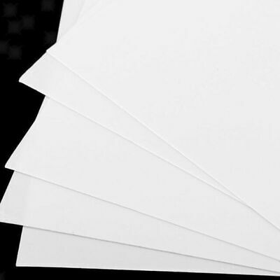 5pcs ABS Sheets Plate Model Styrene For DIY Toy Pack House Aircraft Replacement