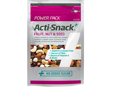Fruit, Nut & Seed Power Pack by Acti Snack - 500g EXPIRED 30/6/18
