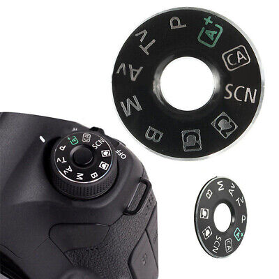 For Canon 6D EOS Camera Dial Function Mode Plate Interface ABS Repairing Part