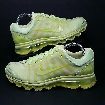 separation shoes 6815d 1daa6 NIKE Air Max+ 2009 (Men s Size 8) Athletic Running Sneaker Shoes Pale Volt