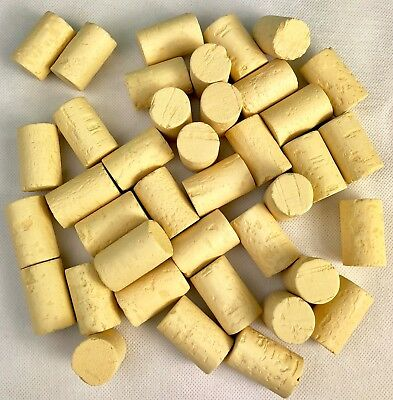Natural Straight Sided Wine Bottle Corks 22x38mm Home Brew