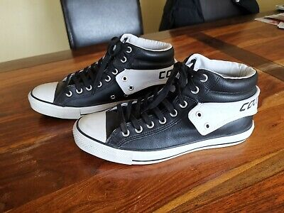 premium selection 0e162 4f832 ORIGINAL CONVERSE ALL Star Chucks Boots Leder Wie Neu Schwarz Gr. 10/ 44  **Top**