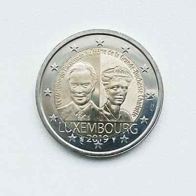 Newest 2019 Luxembourg 2 Euro commemorative coin