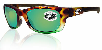 3edc646ec0 Costa Del Mar Trevally Tortuga Fade Frame Green Mirror 580G Glass Polarized  Lens