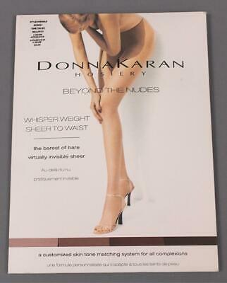 f178afa36 Donna Karan Hosiery Women s Beyond The Nudes Pantyhose MC7 Tone B02 Small  NWT