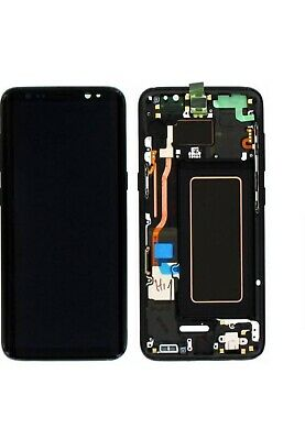 Original Samsung LCD Touchscreen-Display fur Galaxy S8 G950F - Schwarz