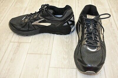 df2a2571e8a BROOKS MENS BEAST  16 Running Shoes Anthracite Black Silver Size ...