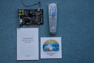 COMPRO VIDEOMATE S350 DVB S PCI TV Tuner Card