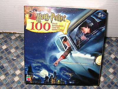 Harry Potter Flying Car 100 Piece Puzzle Mattel Brand New Collectable Very Rare