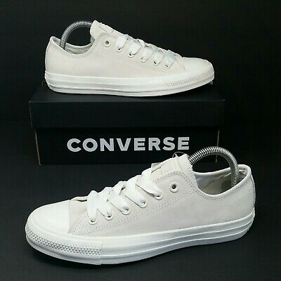 5ed55211f87c  NEW  Converse All Star Chuck Taylor (Women Size 7) Vintage White Suede