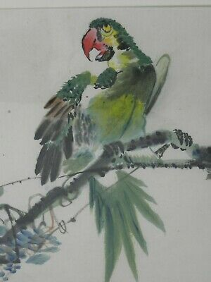 CHINESE WATERCOLOR PAINTING 20TH c #2