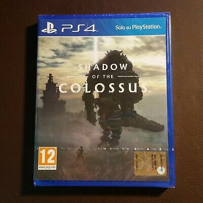 Shadow of the Colossus Pal Ita Ps4 Playstation 4 Nuovo