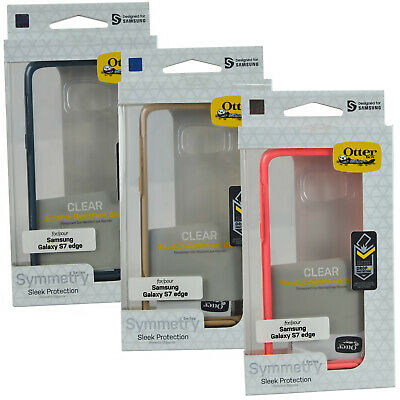 Genuine OtterBox Symmetry Rugged Clear Case Cover For Samsung galaxy S7 Edge
