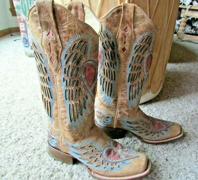 3260ec08f16f Boot Barn Corral Heart Wing NWOT Boot!Style A1990!Gorgeous!6!