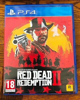 Red Dead Redemption 2 PS4 Game Brand New - Free Recorded Delivery