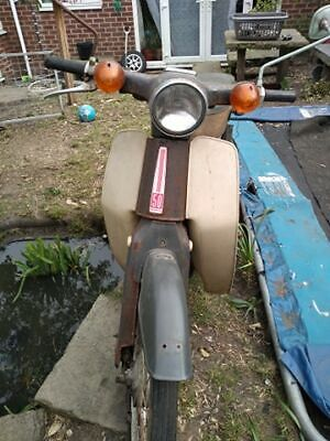 1971 Honda cub c50 c70 c90. Historic vehicle - tax and mot exempt. V5c present