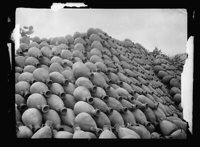 Pottery jars ready for the market,Middle East,American Colony Jerusalem Photo,1
