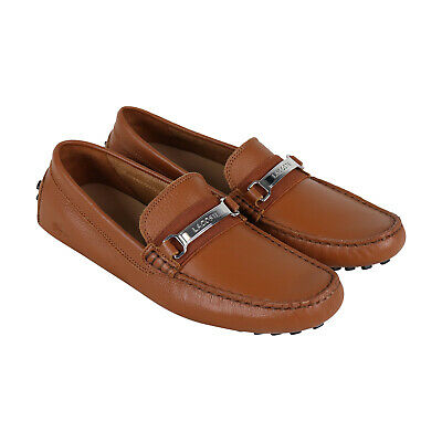 379c0fdda Lacoste Ansted 318 1 U Mens Tan Leather Casual Dress Slip On Loafers Shoes