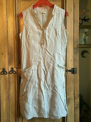 615997dd8c1 Ladies Dress Size L (14) LINA TOMEI (Italy) Linen Ab Gorgeous Cool