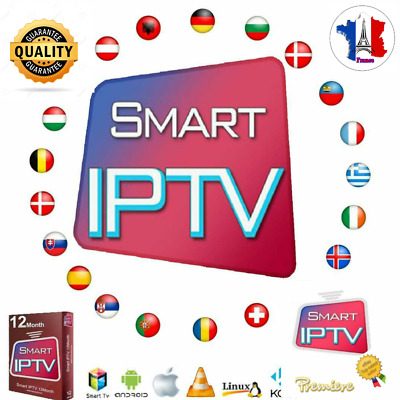 IPTV ABONNEMENT 12MOIS FULLHD,SD,VOD,SERIES,CHAINES,m3u,android,vlc,ios,mag,kodi