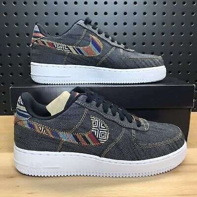 huge selection of 7004e 4348a NIKE AIR FORCE 1 '07 Denim Midnight Navy/White University Red 630930 ...